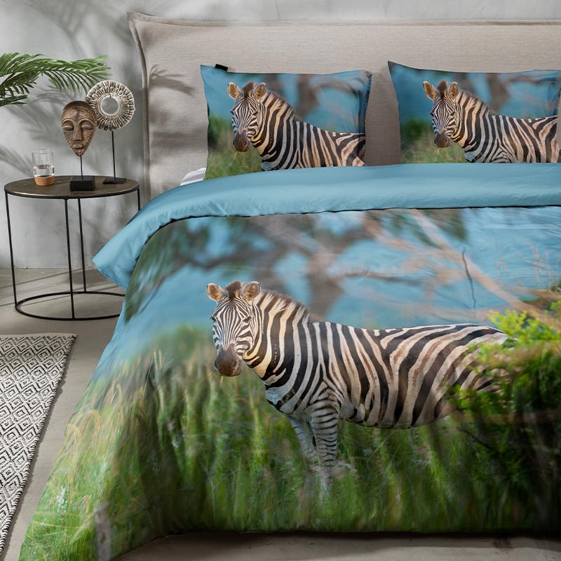 Fresh & Co Zebra Kay Lits-jumeaux (240 x 220 cm + 2 kussenslopen) Dekbedovertrek