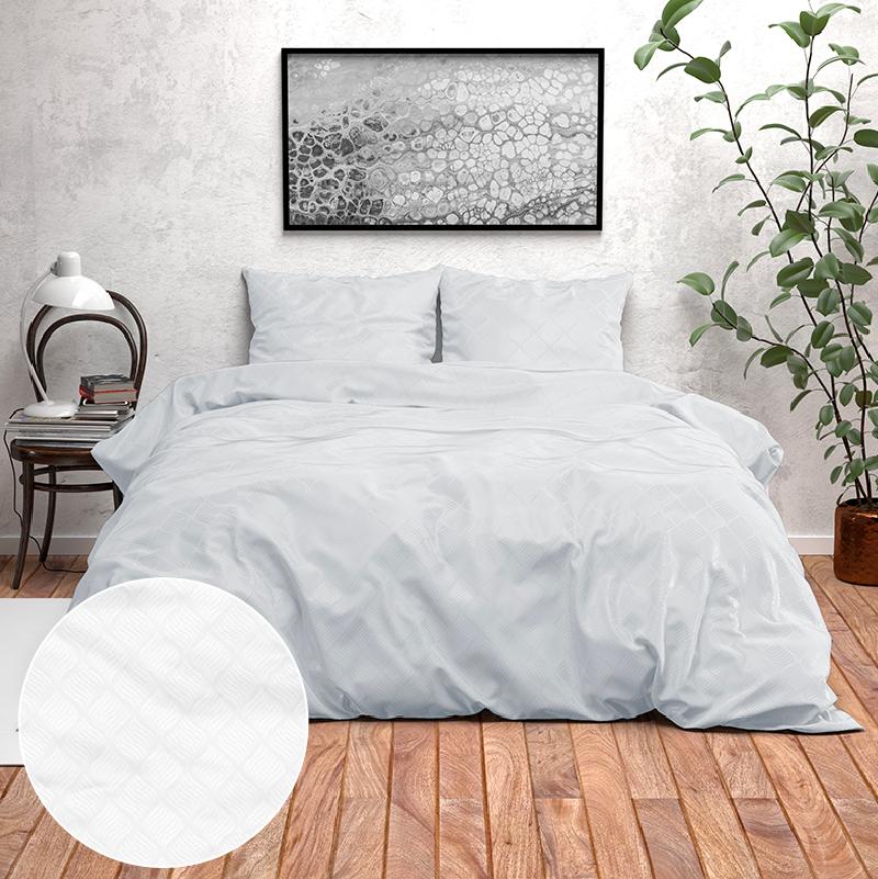 Zensation Novara - Wit 2-persoons (200 x 220 cm + 2 kussenslopen) Dekbedovertrek