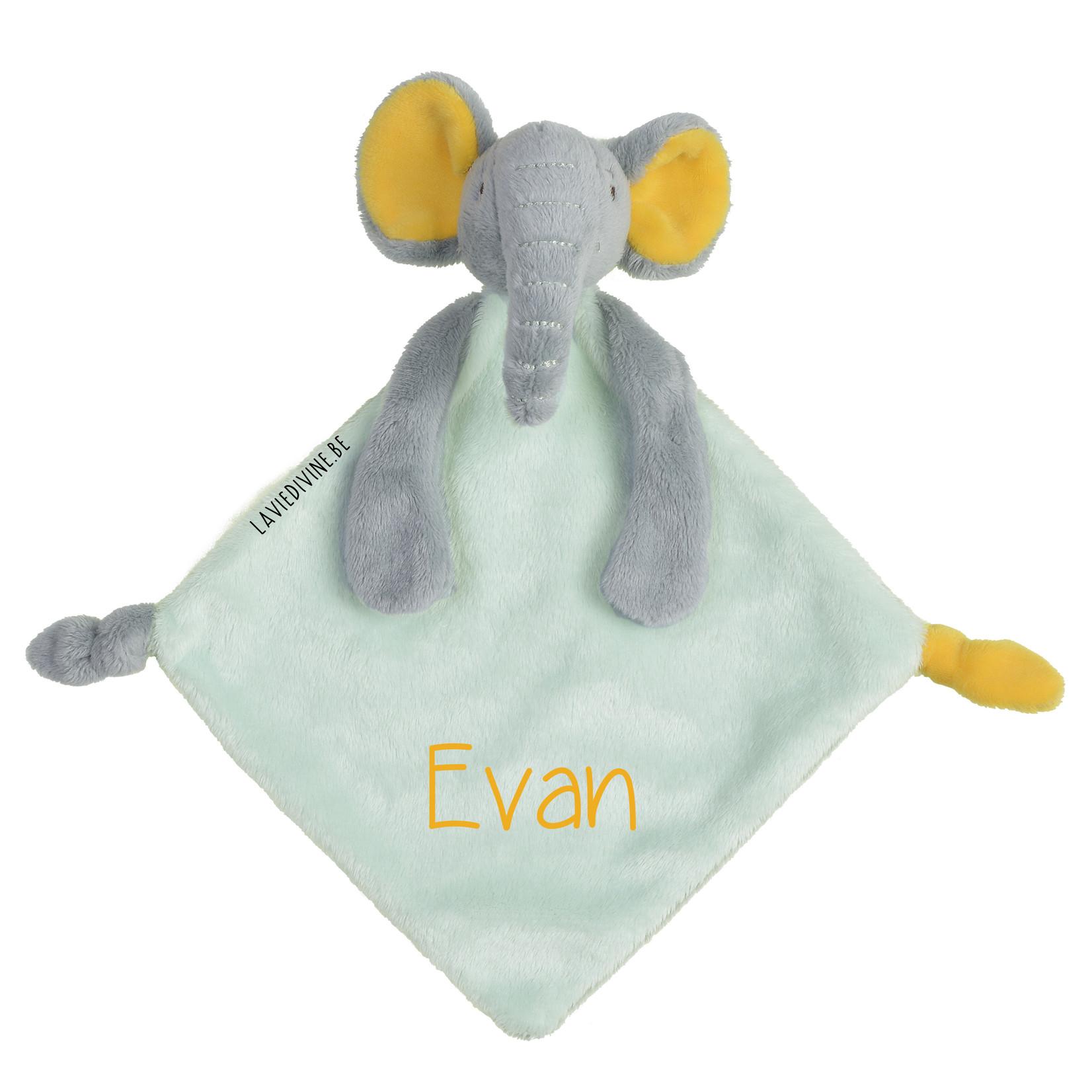 Happy Horse Knuffeldoekje olifant Evan