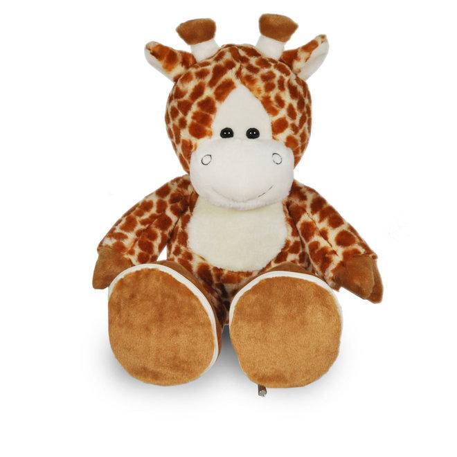 Giraf met gepersonaliseerde voetjes