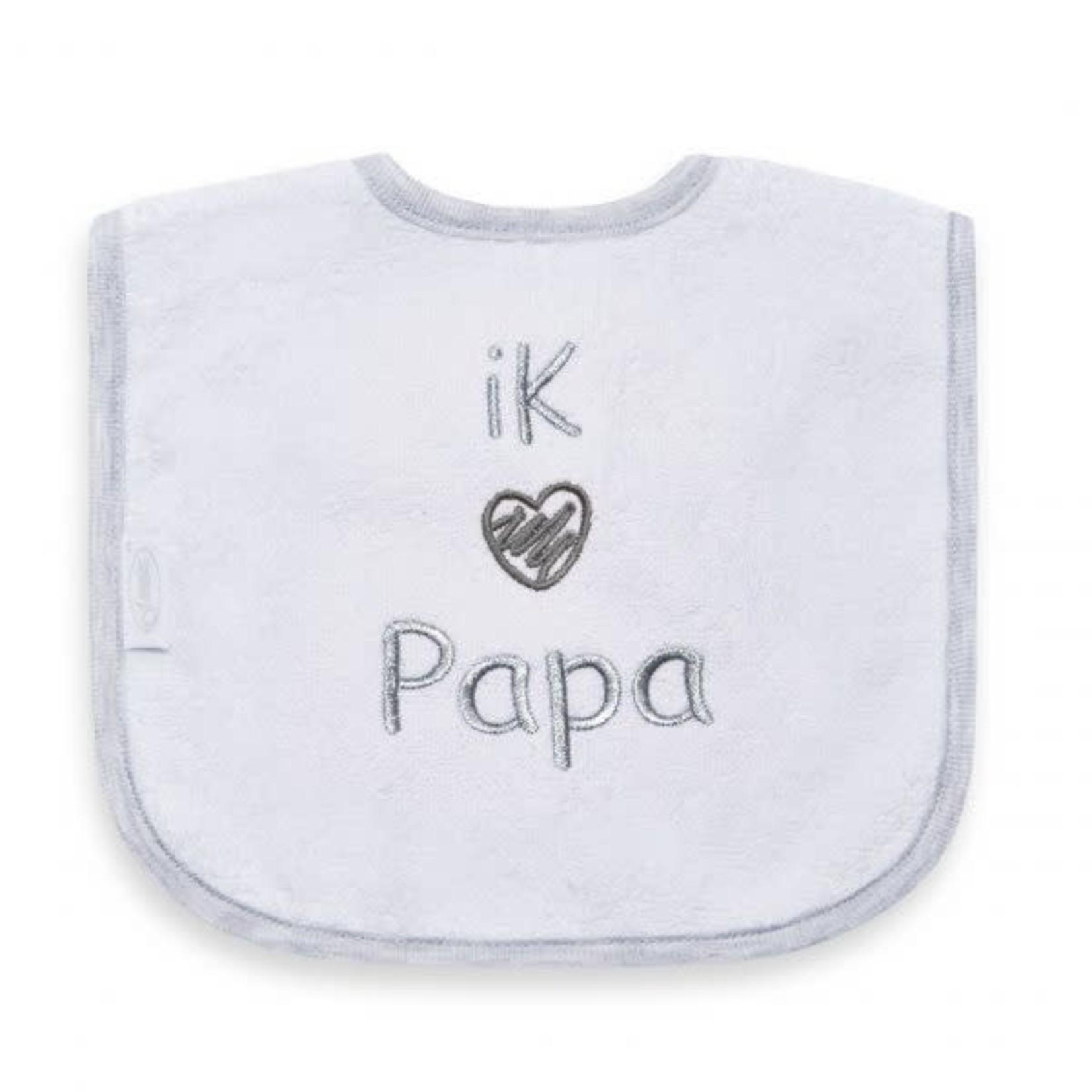 Funnies slabbetje I love Papa