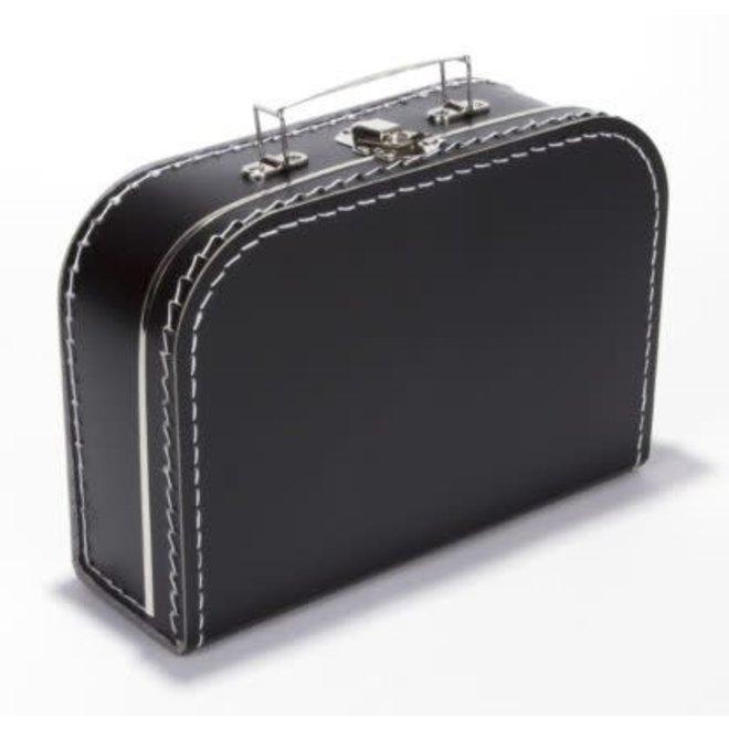 Kinderkoffertje 30cm zwart
