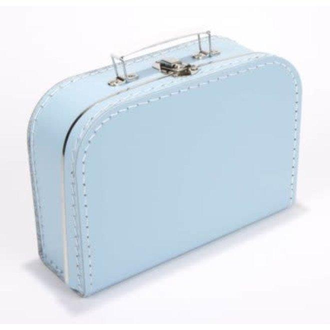 Kinderkoffertje 35cm lichtblauw