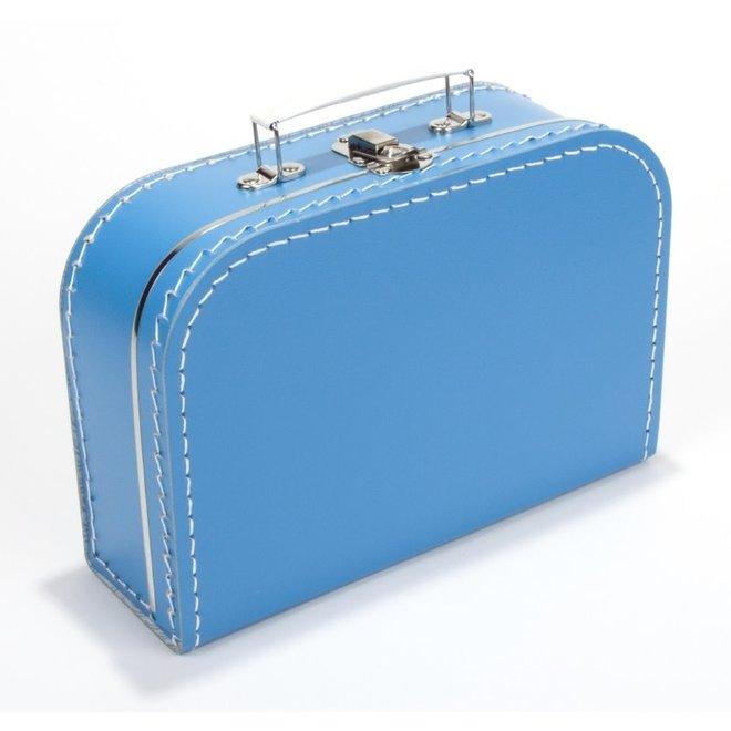 Kinderkoffertje 25cm aqua