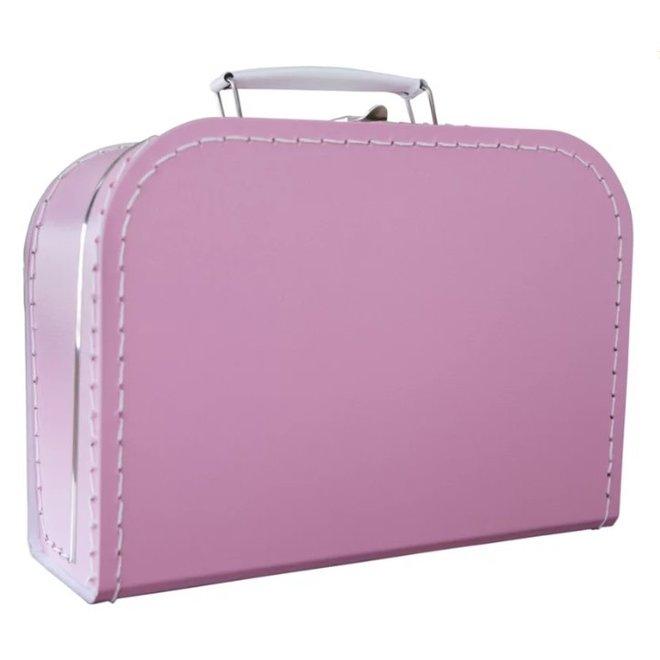 Kinderkoffertje 25cm Fel roze