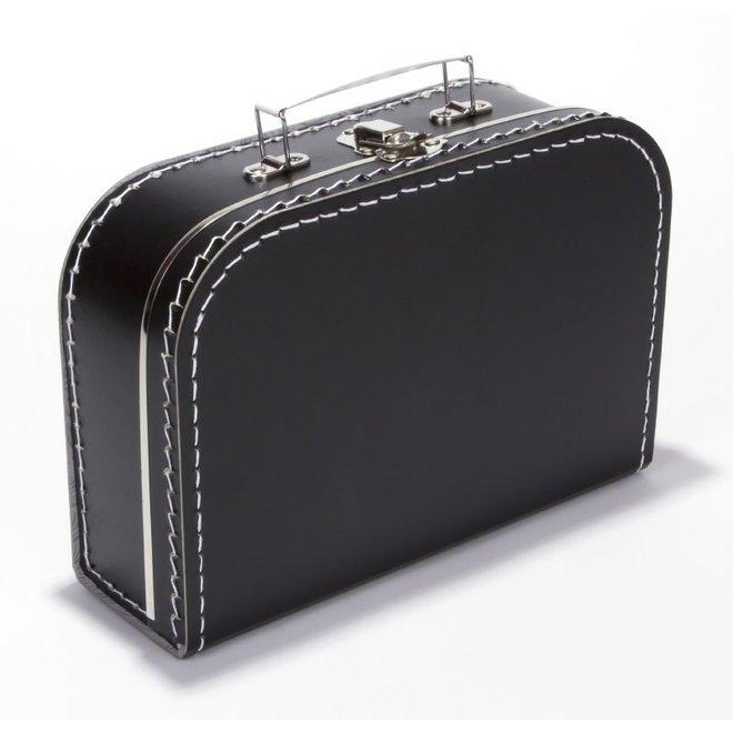 Kinderkoffertje 25cm zwart