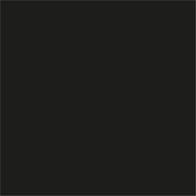 Ritrama vinyl O400 30cm hoog - per meter zwart 401