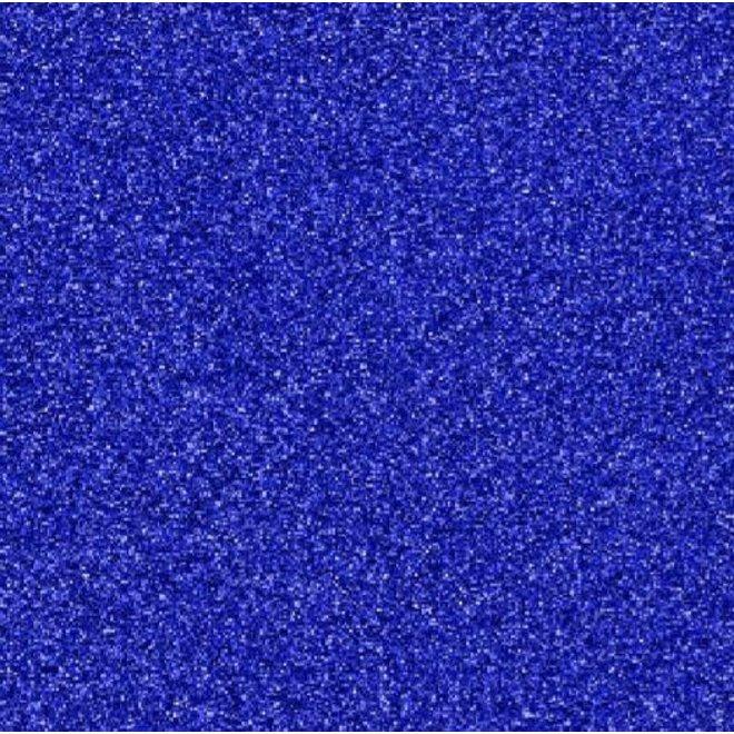 Glitter vinyl 30cm / meter cobalt blue