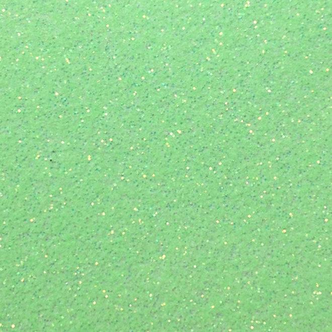 Siser Glitter 30x50cm Fluo groen g0026