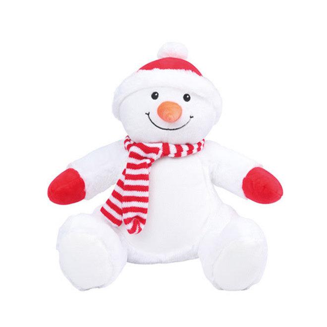 Mumbles zippie sneeuwman