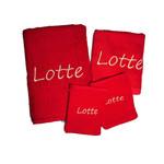 ARTG Standaard handdoekenset met naam