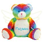 Mumbles Regenboog beer met naam