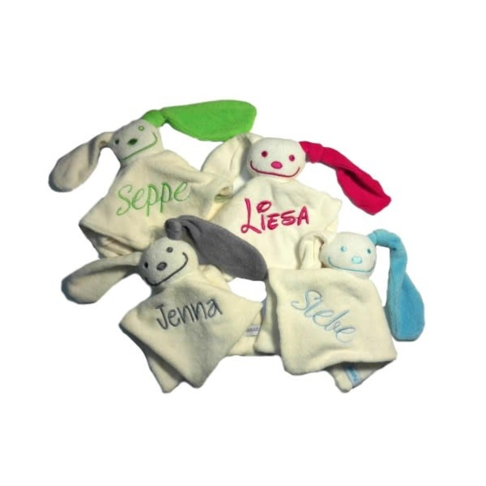 Funnies Sponzen konijntje met naam