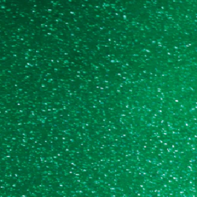 Glitter vinyl A4 Emerald