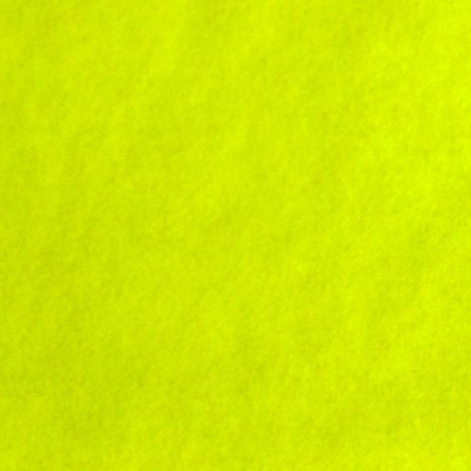 Flockfolie Siser A4 -  Fluo geel S0022