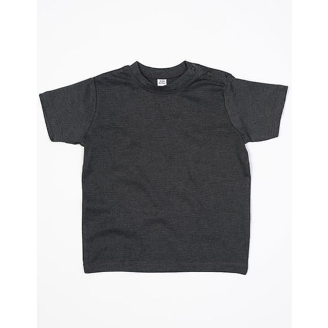 Baby t-shirt donkergrijs