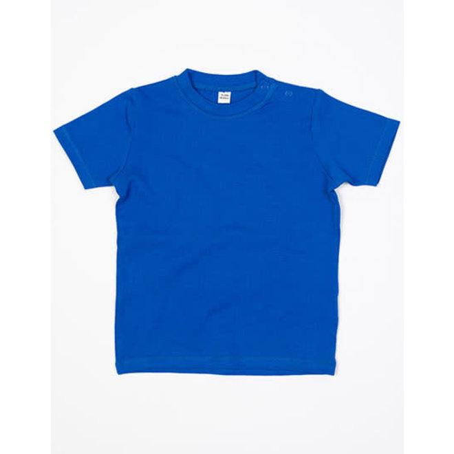 Baby t-shirt cobaltblauw