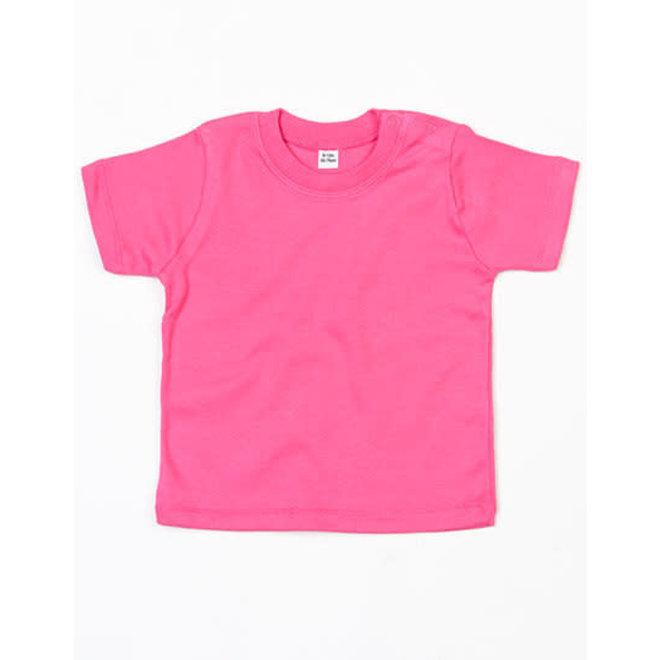 Baby t-shirt fuchsia