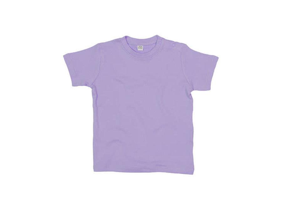 Baby t-shirt lavendel