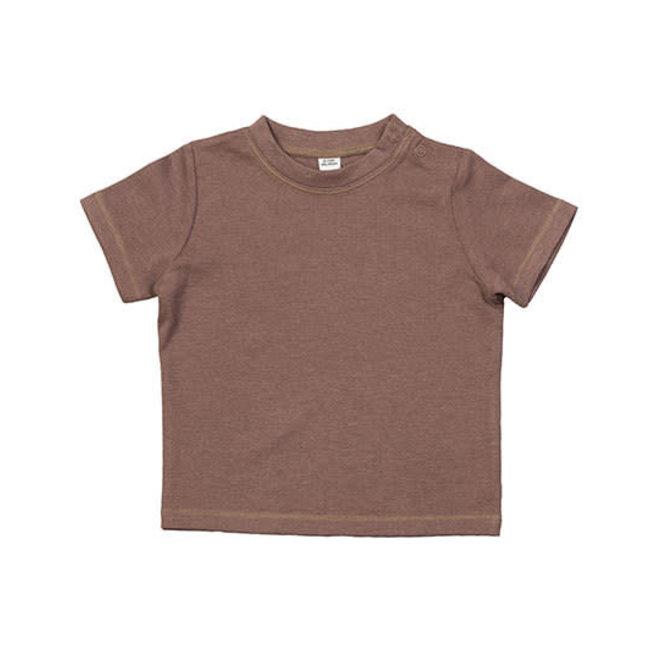 Baby t-shirt mokka