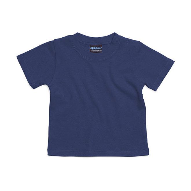 Baby t-shirt marineblauw