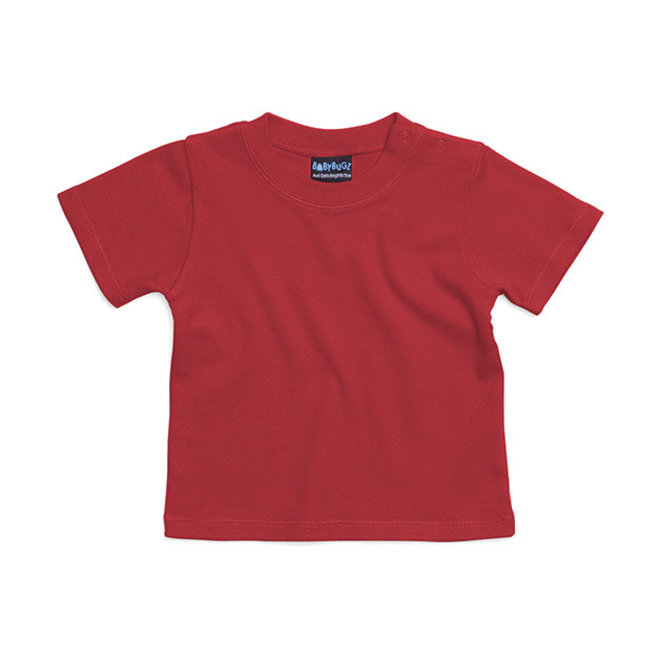 Baby t-shirt rood