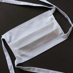 Mondmasker met plaats voor filter (fairtrade & organisch katoen)