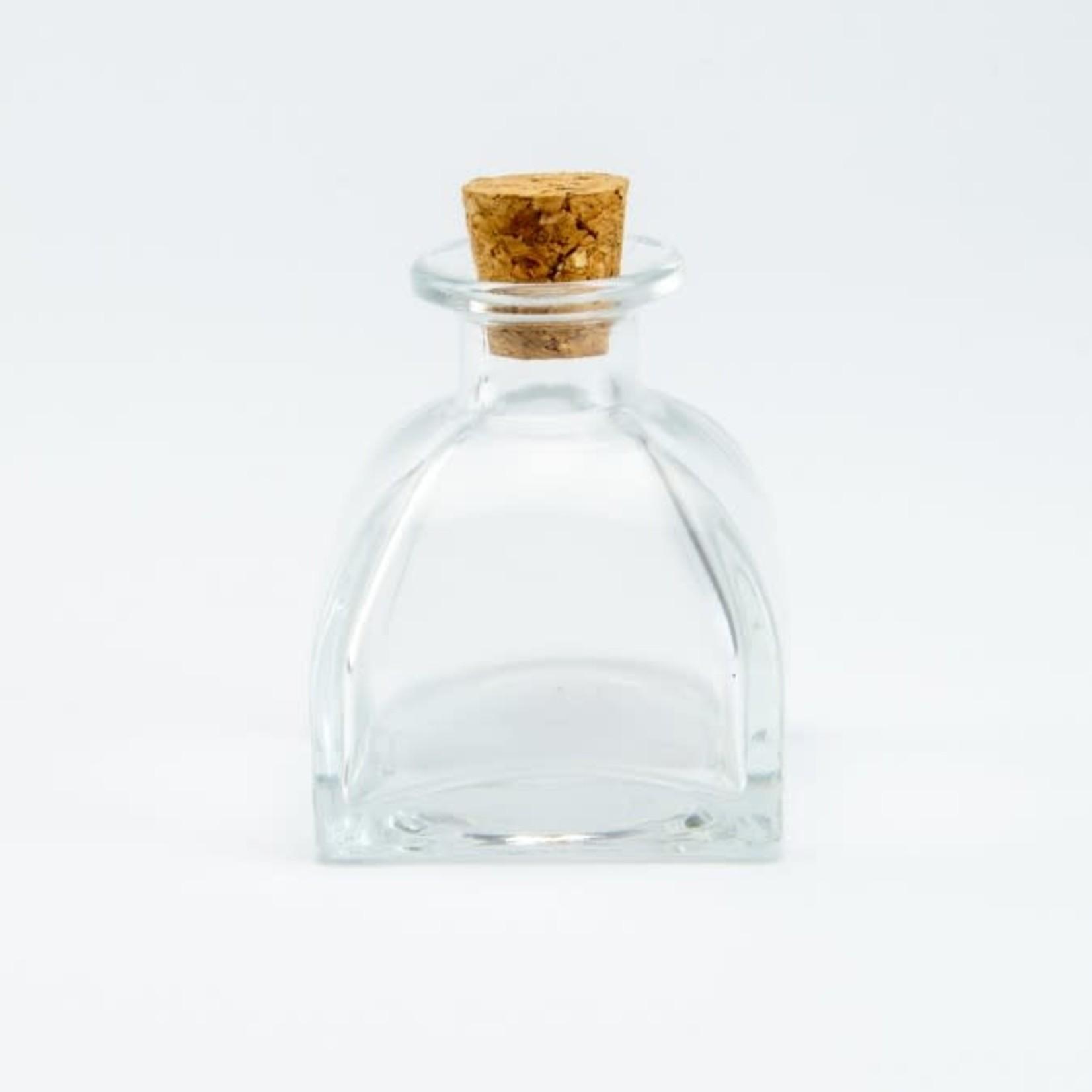Luxe parfumflesje met kurken dop 60ml