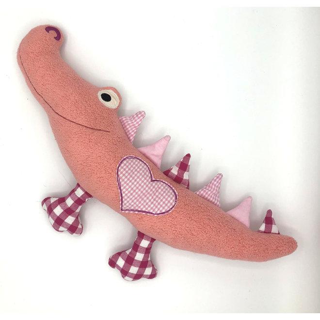 Roze krokodil