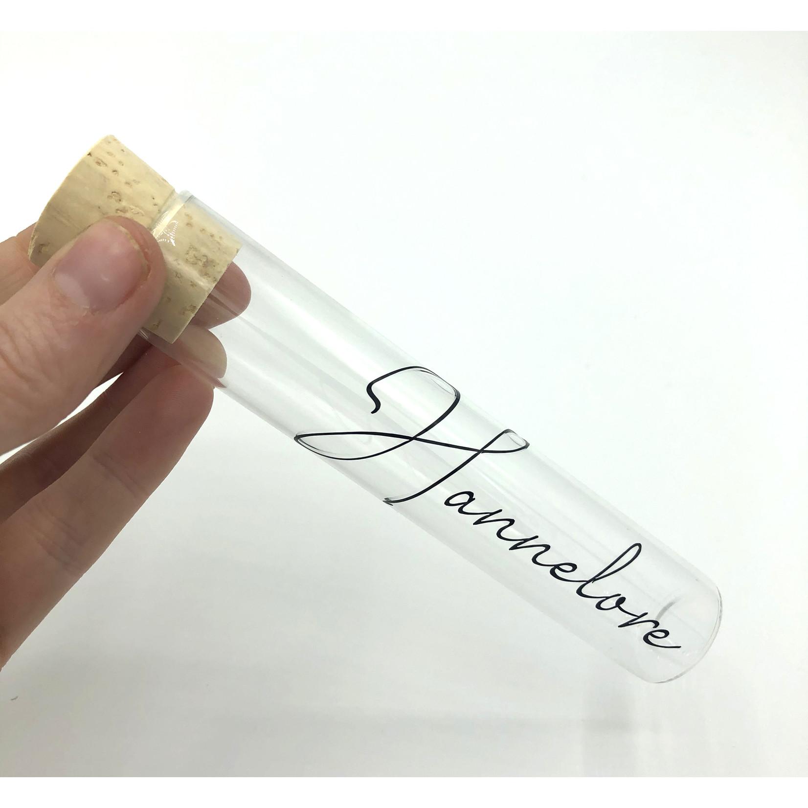 Naamsticker contourgesneden 6-10cm
