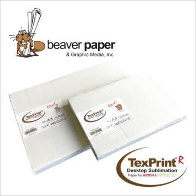 Sublimatiepapier TexPrint-R - 110 vellen A3