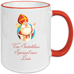 Koffiemok van Sinterklaas