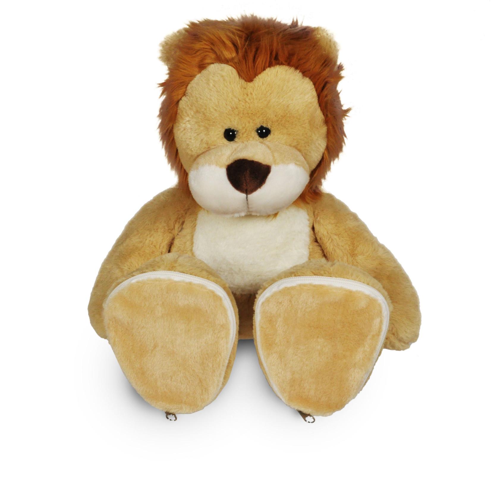 Funnies Leeuw met geborduurde voetjes