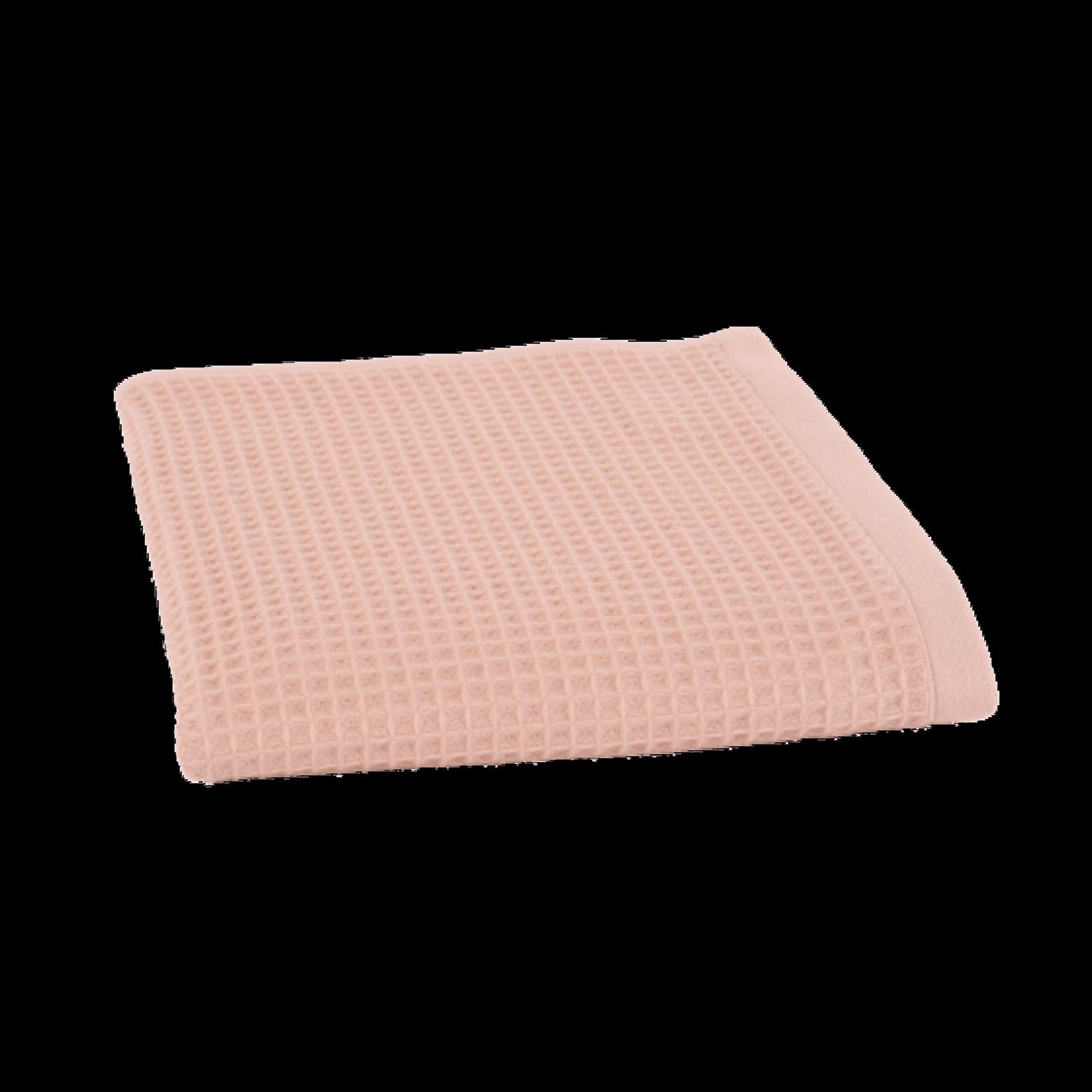 jules Clarysse Suzy handdoek in wafelstof  met naam