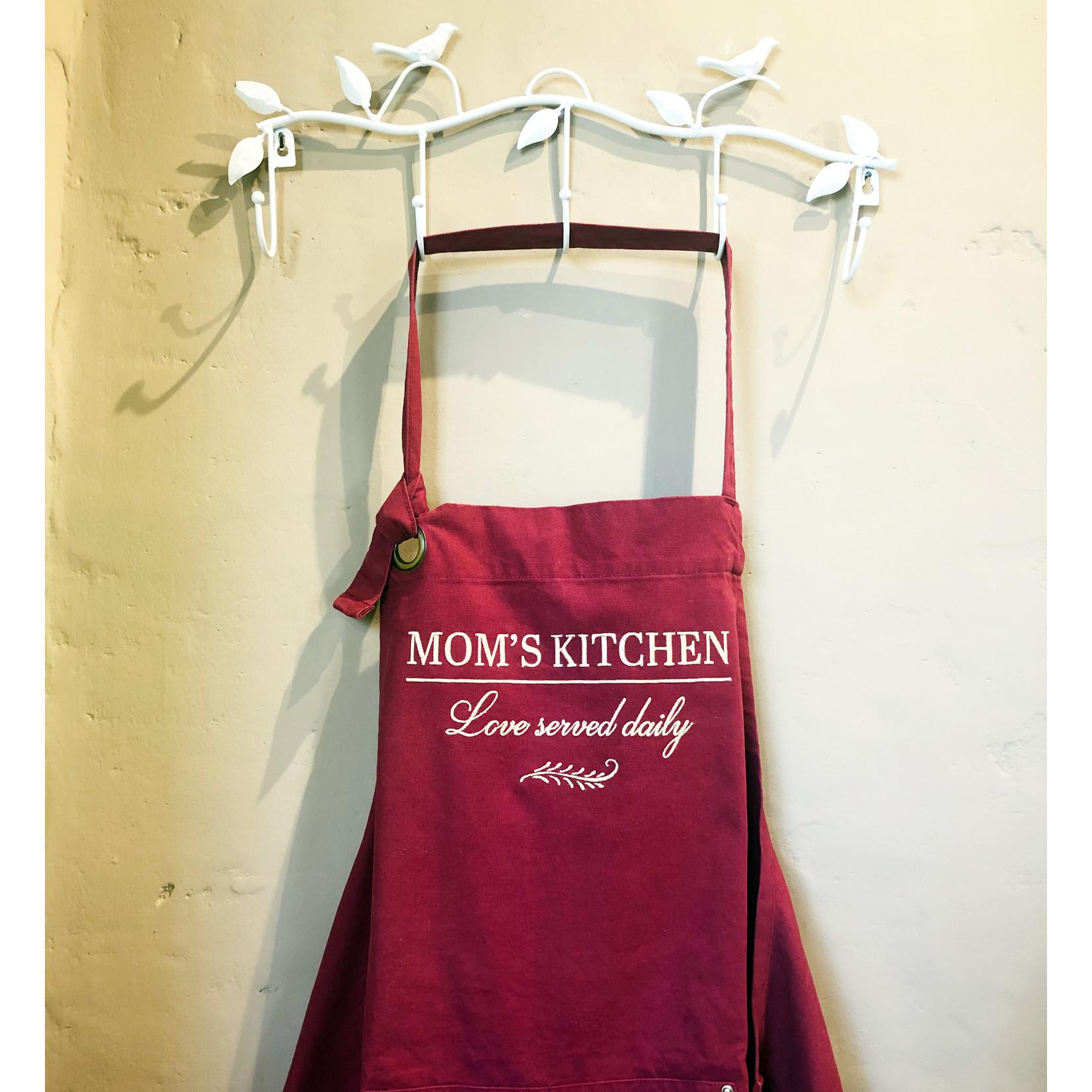 Canvas keukenschort 'Mom's Kitchen'