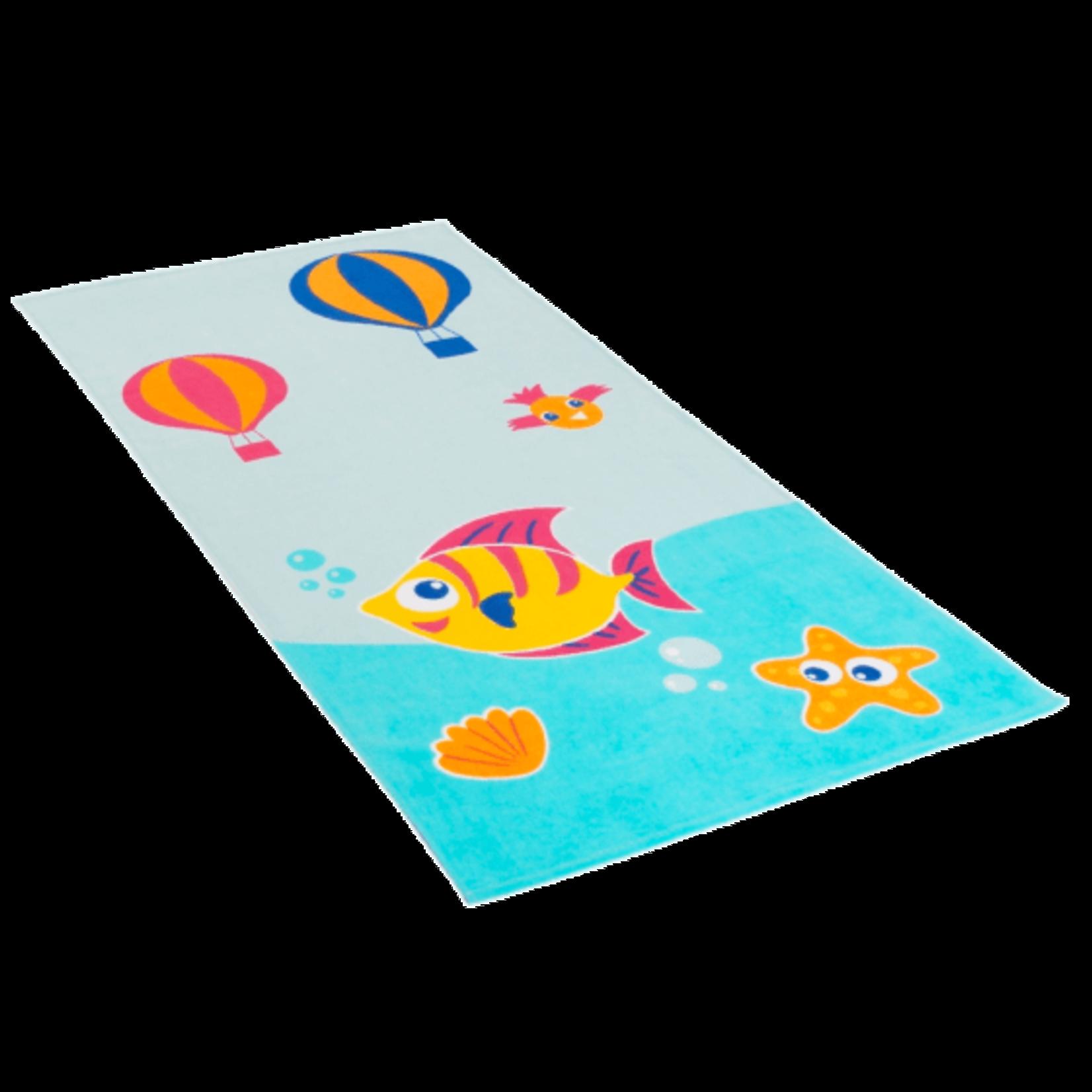 jules Clarysse Kids strandlaken Diep in de zee - met naamborduring