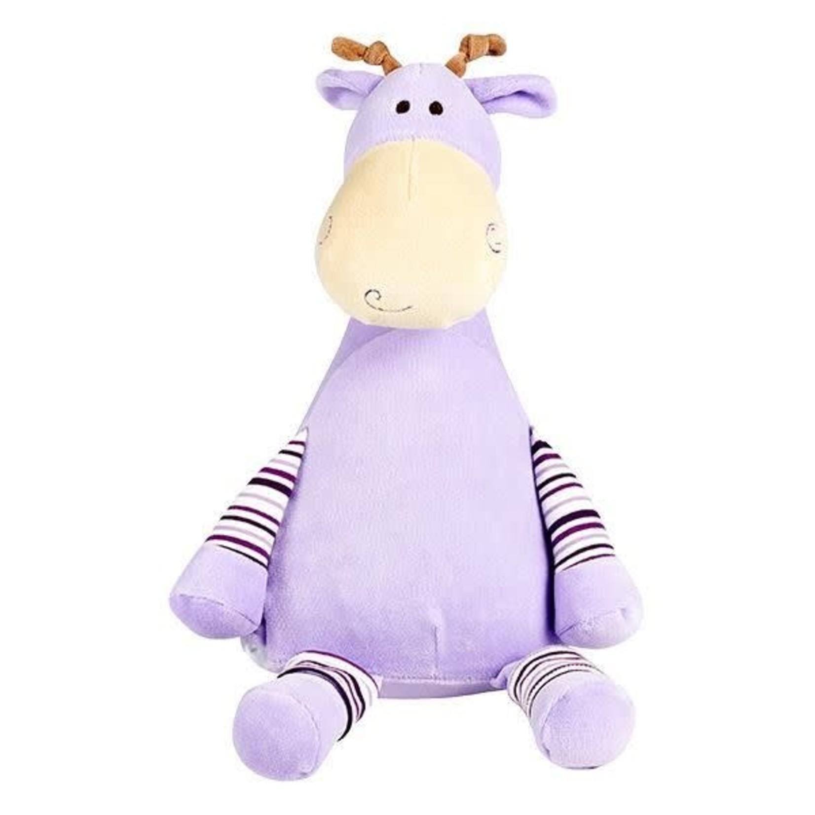 Knuffel 'Pastel' giraf met naam