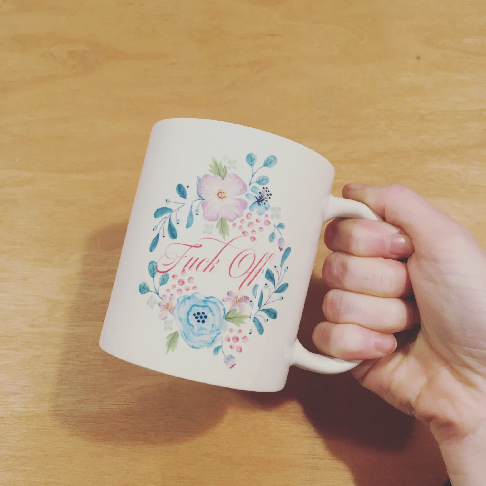 Standaard koffiemok met fotoprint