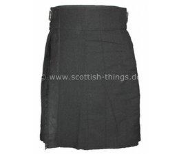 Kilt black solid
