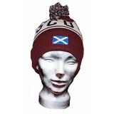 Ski Hat  Scotland mit Bommel