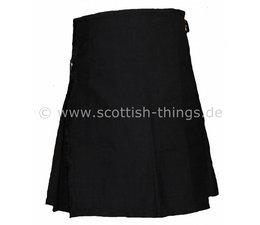Premium Kilt Black Solid