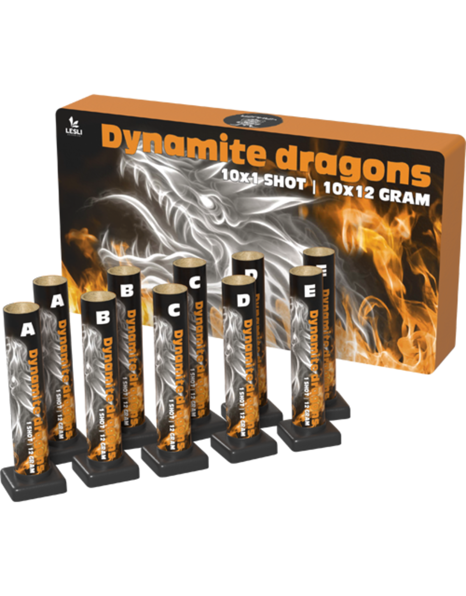 Lesli Vuurwerk Dynamite Dragons