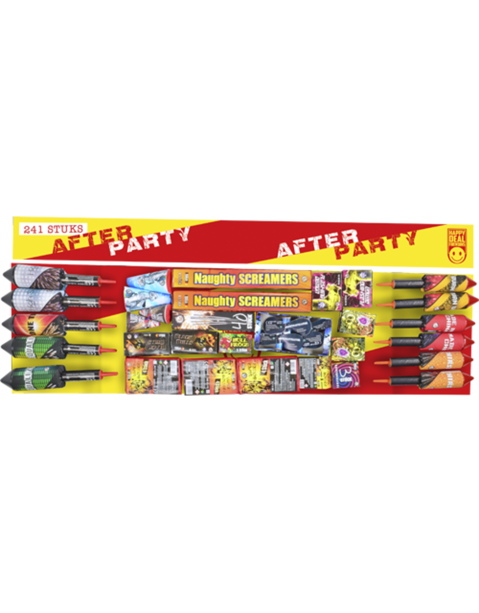 Lesli Vuurwerk After Party 241 delig pakket