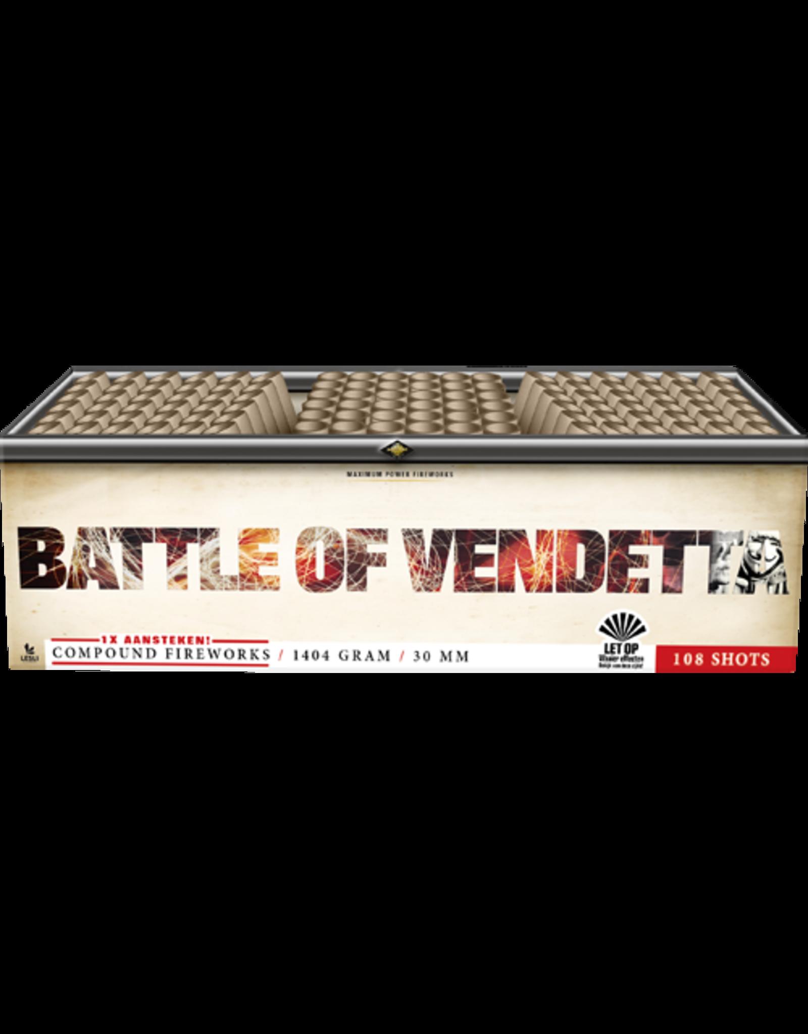 Lesli Vuurwerk Battle Of Vendetta 108 shots