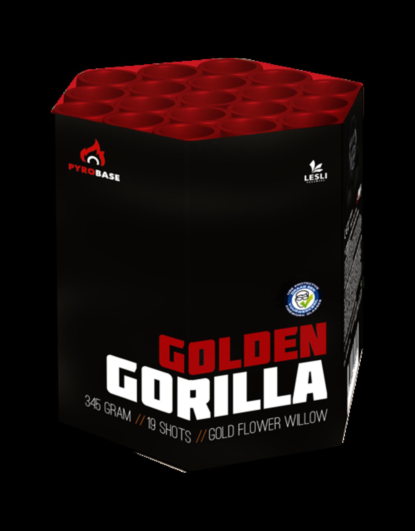 Lesli Vuurwerk Golden Gorilla 19 shots