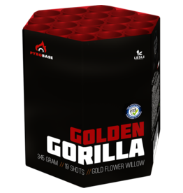 Lesli Vuurwerk Golden Gorilla