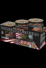 Lesli Vuurwerk Three Musketeers 3x 9 shots