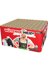 Lesli Vuurwerk Wütende Heidi 100 shots