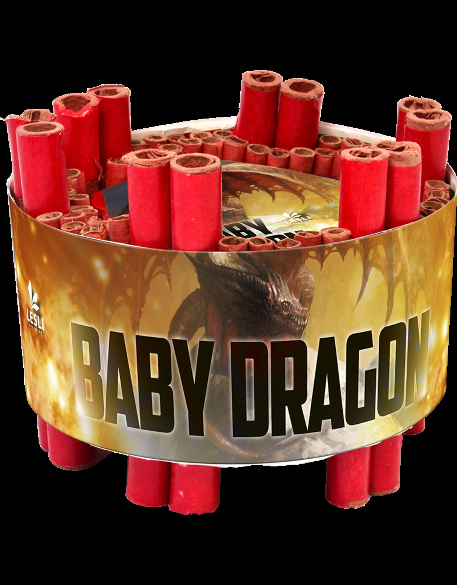 Lesli Vuurwerk Baby Dragon 360 shots