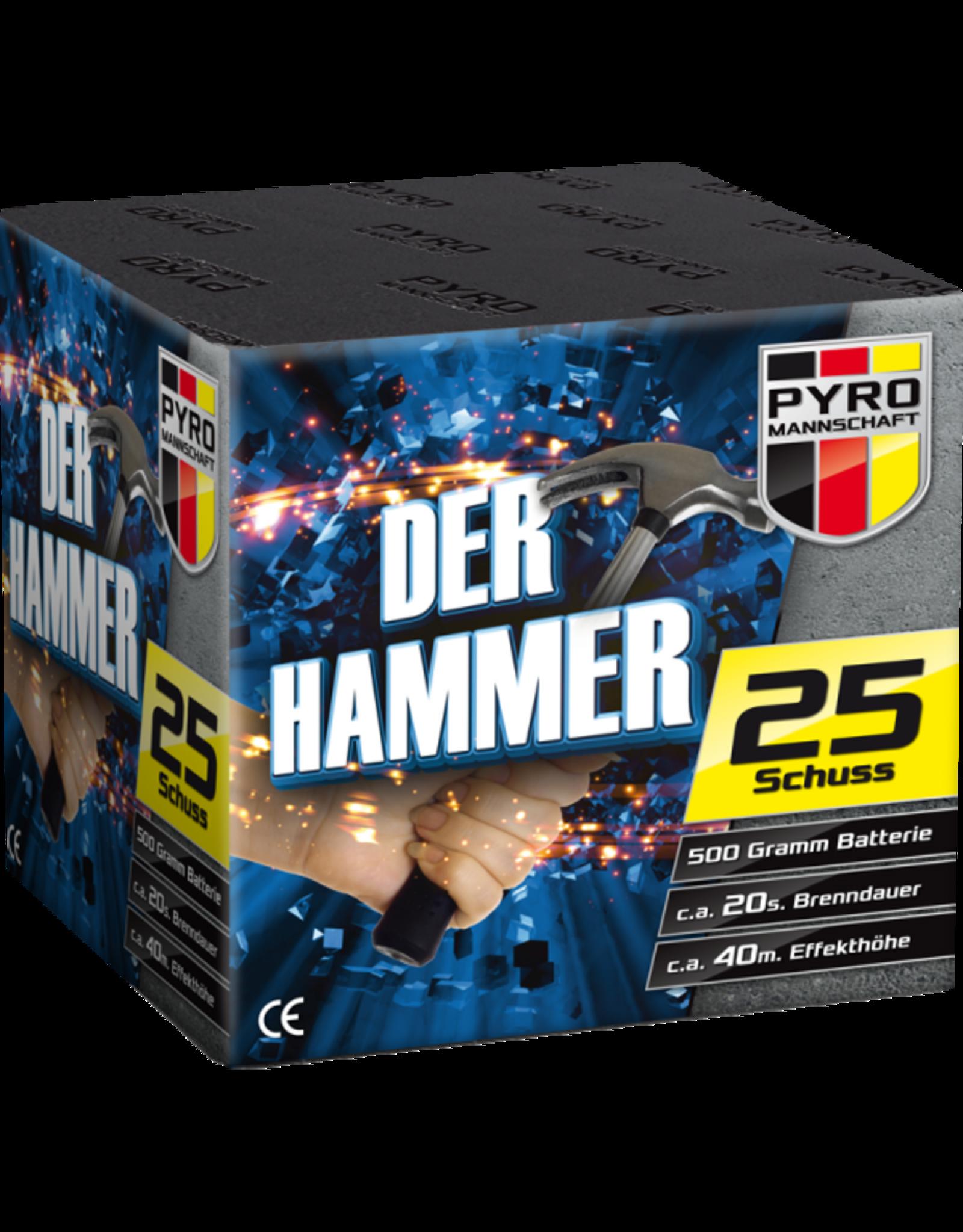 Vuurwerktotaal Der Hammer 25 shots